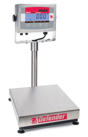 OHAUS Defender™ 3000 Stainless Steel Bench Scale
